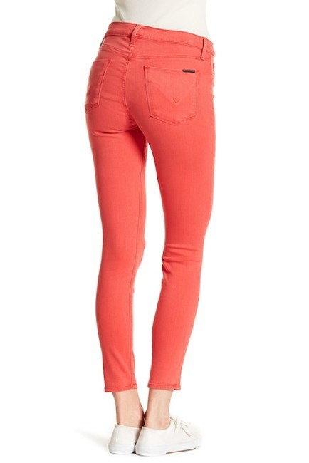 Hudson Coral Mid Rise Ankle Skinny Jeans-Medium Wash Image 4