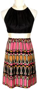 Milly of New York Special Occasion Silk Graphic Dress