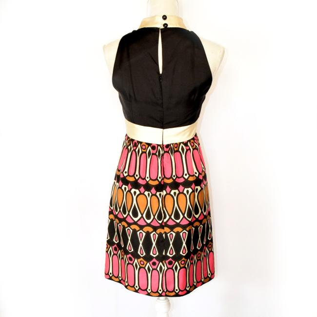 Milly of New York Special Occasion Silk Graphic Dress Image 1