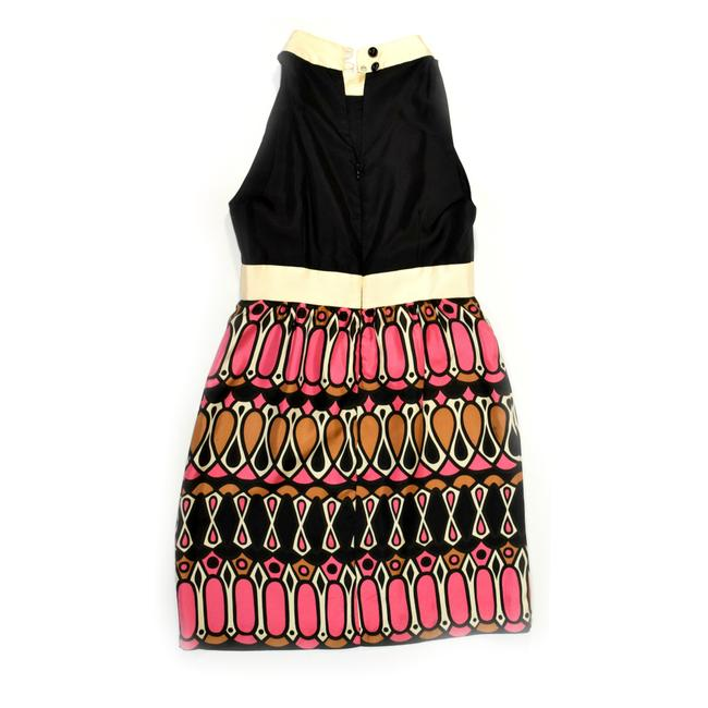 Milly of New York Special Occasion Silk Graphic Dress Image 3
