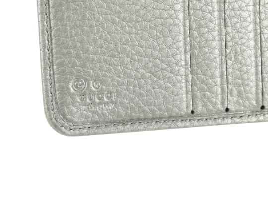 Gucci Gucci Leather French Flap Wallet Image 7