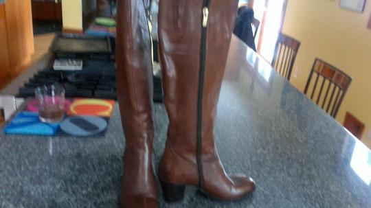 European Designer Classic Cool Stylish High Quality Brown Boots Image 1