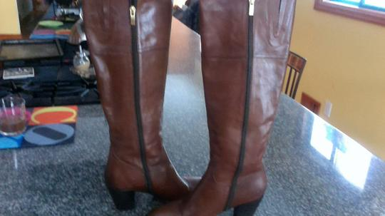 European Designer Classic Cool Stylish High Quality Brown Boots Image 4