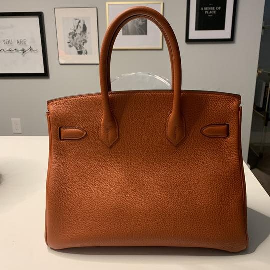 Hermès Tote in Cuivre with Gold Hardware Image 3