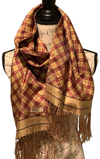 Preload https://img-static.tradesy.com/item/24743618/beige-and-red-silk-scarfwrap-0-1-540-540.jpg