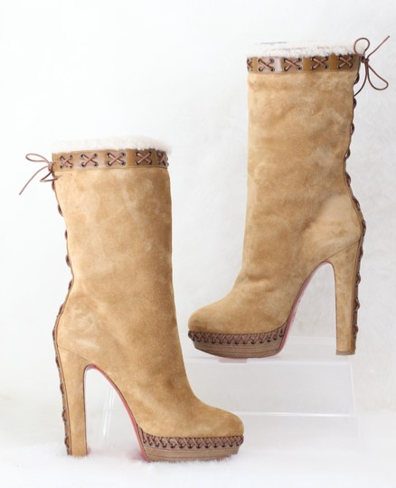 Christian Louboutin Brown Boots Image 5