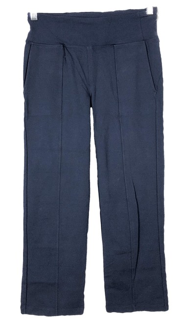 Athleta Athleta Metro Crop Kick Flare Size S Navy Blue Pants Image 1