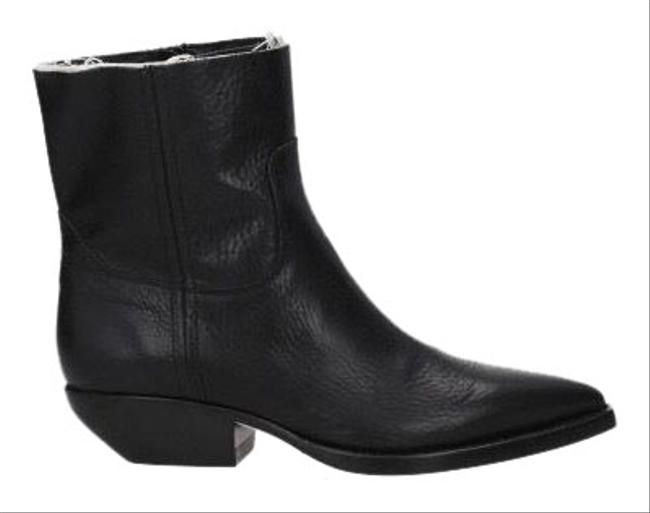 Item - Black Theo Eli Leather Ankle Boots/Booties Size EU 38.5 (Approx. US 8.5) Narrow (Aa, N)