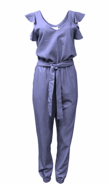 Preload https://img-static.tradesy.com/item/24743717/waverly-grey-chambray-blue-kirby-romperjumpsuit-0-0-650-650.jpg