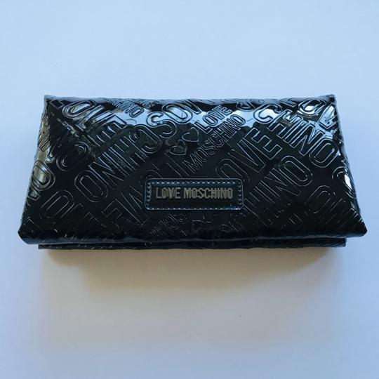 Love Moschino Love Moschino Embossed Logo Patent Leather Wallet Image 1