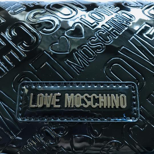 Love Moschino Love Moschino Embossed Logo Patent Leather Wallet Image 2