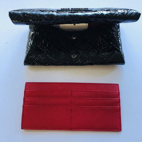 Love Moschino Love Moschino Embossed Logo Patent Leather Wallet Image 5