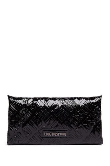 Love Moschino Love Moschino Embossed Logo Patent Leather Wallet Image 8