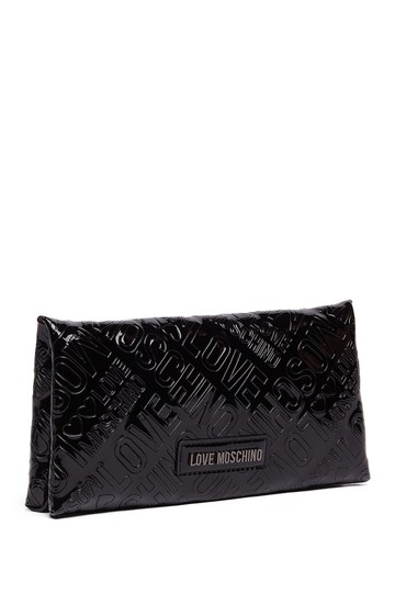 Love Moschino Love Moschino Embossed Logo Patent Leather Wallet Image 9