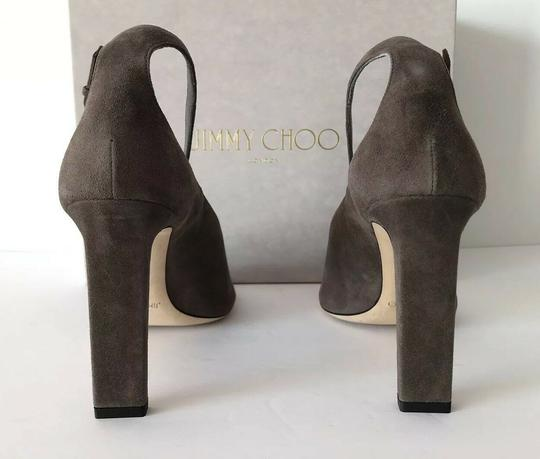 Jimmy Choo Theresa Ankle Strap Heel Sandals Mink Pumps Image 4
