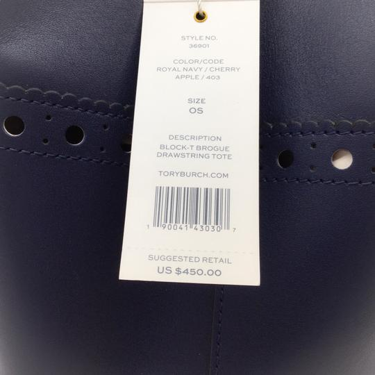 Tory Burch Tote in Navy Image 8