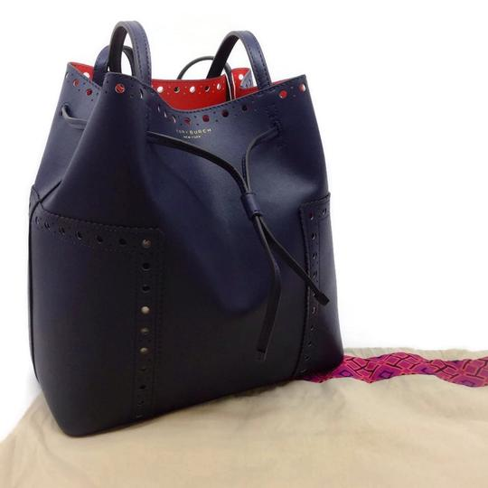 Tory Burch Tote in Navy Image 9