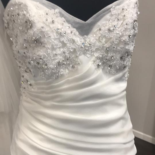 Sophia Tolli Ivory Y21439 Formal Wedding Dress Size 12 (L) Image 1