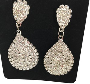 Other Silver Rhinestone Earrings