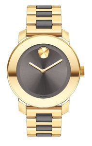 Movado Two Tone Stainless Midsize 3600338