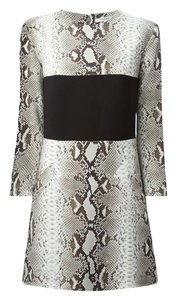 Carven short dress Snake Print on Tradesy
