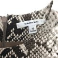 Carven short dress Snake Print on Tradesy Image 5