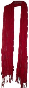 Unbranded Women Red Scarf