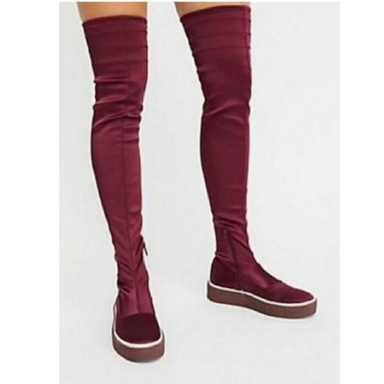 Free People Red Boots Image 1