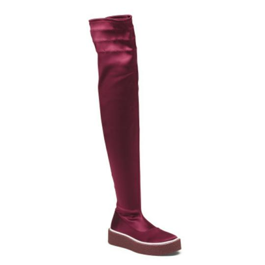Free People Red Boots Image 3