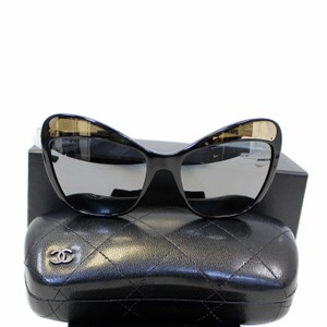Chanel CHANEL Butterfly Runway Sunglasses Black
