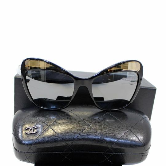 Chanel CHANEL Butterfly Runway Sunglasses Black Image 0