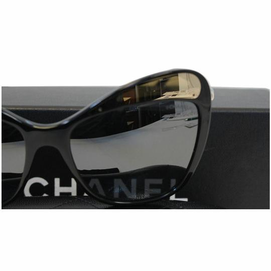 Chanel CHANEL Butterfly Runway Sunglasses Black Image 1