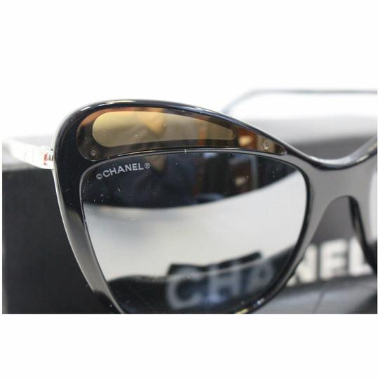 Chanel CHANEL Butterfly Runway Sunglasses Black Image 3