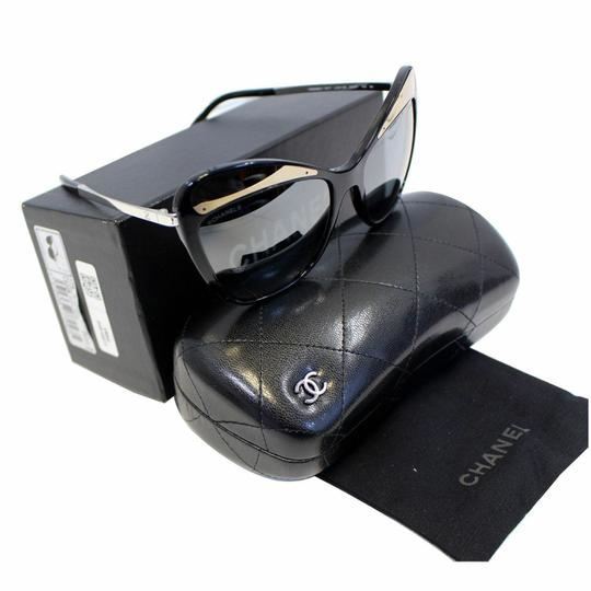 Chanel CHANEL Butterfly Runway Sunglasses Black Image 5