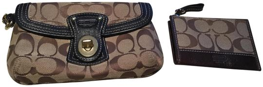 Preload https://img-static.tradesy.com/item/24744051/coach-1941-3-items-brown-cloth-clutch-0-1-540-540.jpg