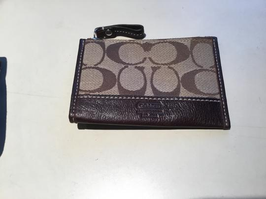 Coach 1941 Brown Clutch Image 4