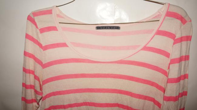 Velvet by Graham & Spencer Gucci Chanel Michael Kors Tory Burch Top pink white Image 1