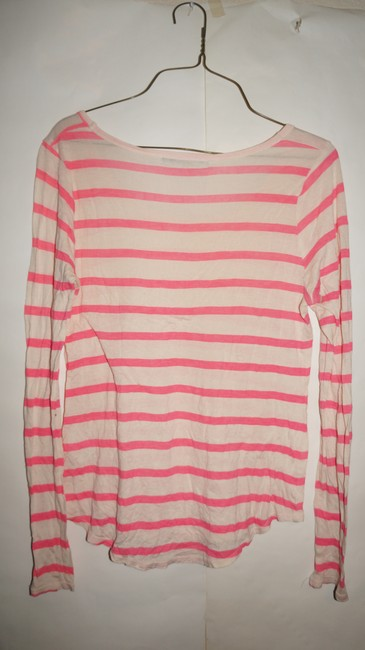 Velvet by Graham & Spencer Gucci Chanel Michael Kors Tory Burch Top pink white Image 3