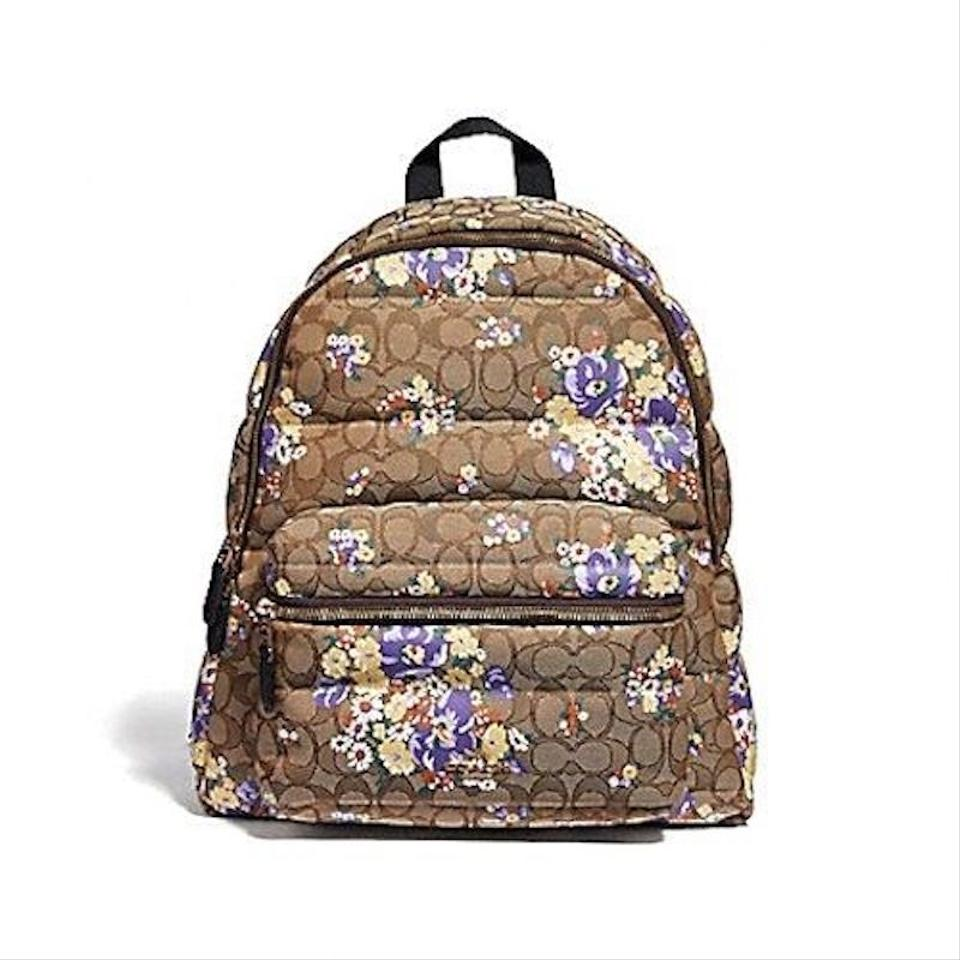 81bd8166c0e7f Coach new womens signature floral quilted charlie brown jpg 960x960 Charlie  brown backpack