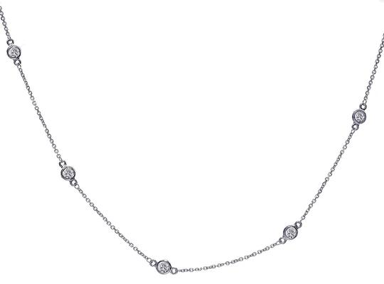 Preload https://img-static.tradesy.com/item/24744221/avital-and-co-jewelry-14k-white-gold-070-carat-round-diamonds-by-the-yard-necklace-0-1-540-540.jpg
