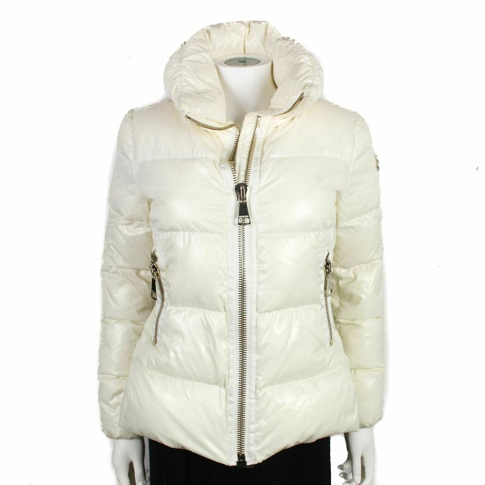 a4132eb71a9 Moncler White - Off-white - Cream Women's Down Puffer Hooded Medium Jacket  Coat Size 2 (XS) - Tradesy