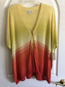 Coldwater Creek Striped Knit Sweater