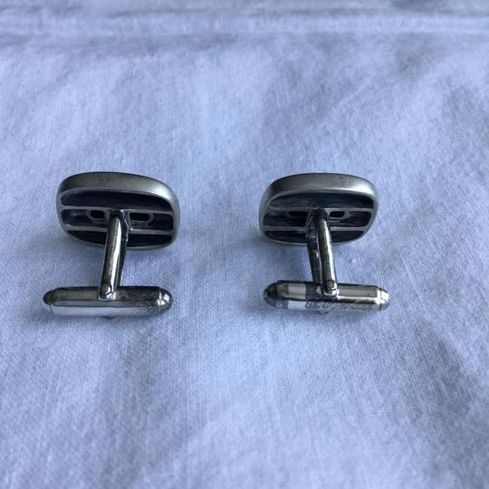 David Yurman STERLING SILVER TWISTED ROPE CUFFLINKS Image 4