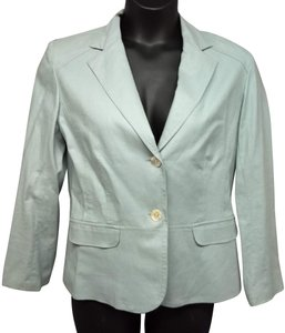 Chico's Jacket LIGHT BLUE Blazer