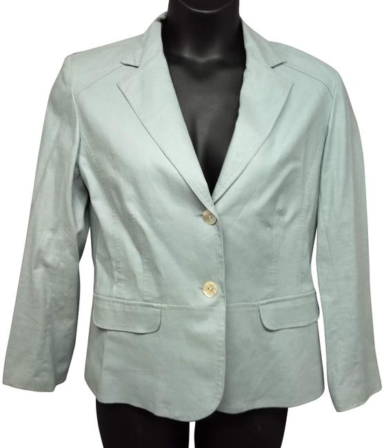 Preload https://img-static.tradesy.com/item/24744545/chico-s-light-blue-linen-blend-jacket-1-blazer-size-6-s-0-2-650-650.jpg