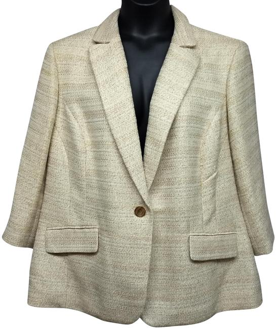 Preload https://img-static.tradesy.com/item/24744588/apostrophe-beige-gold-metallic-jacket-24w-blazer-size-24-plus-2x-0-2-650-650.jpg