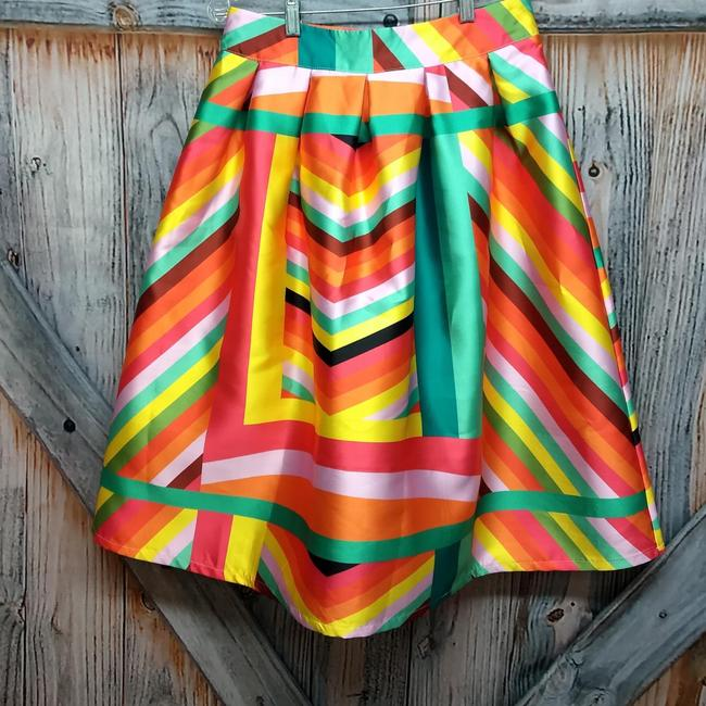 Beulah Skirt Multicolor Image 1