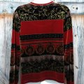 White Stag Top Red/Black/Gold Image 1