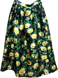 COMME Maxi Skirt GREEN/YELLOW