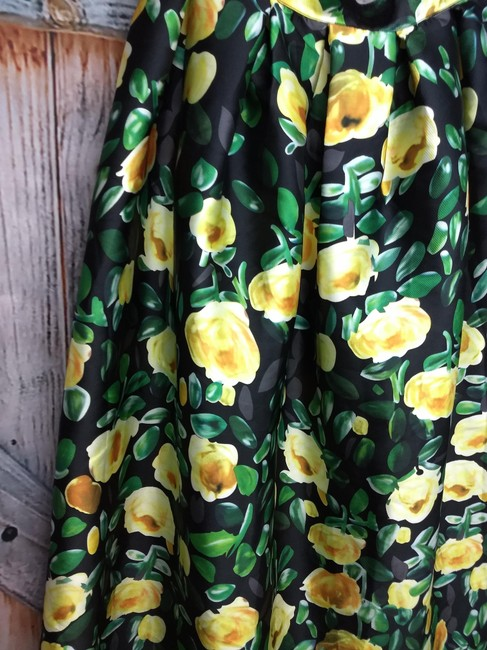 COMME Maxi Skirt GREEN/YELLOW Image 1